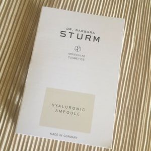Other - DR BARBARA STURM HYALURONIC AMPOULE